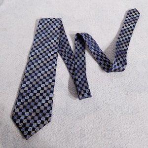 Joseph & Feiss 100% Silk Diagonal Squares Neck Tie
